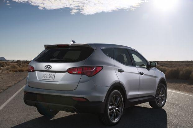 Hyundai Santa Fe - Traseira