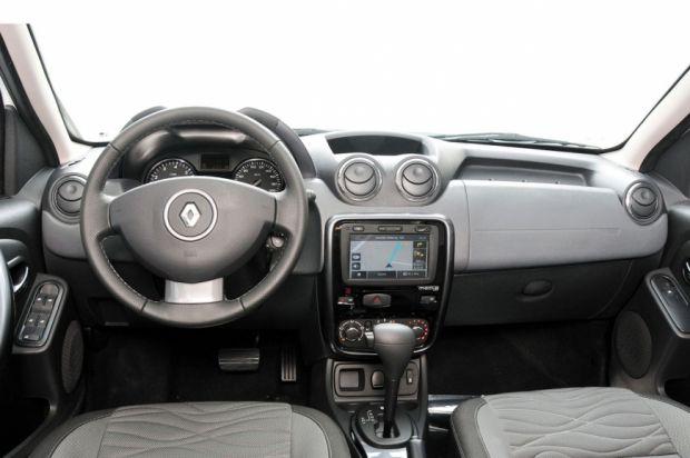 Interior - Renault Duster Tech Road