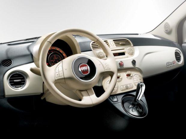Interior Fiat 500 Cabriolet