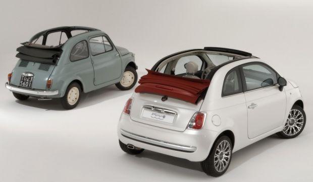 Fiat 500 Cabriolet - História