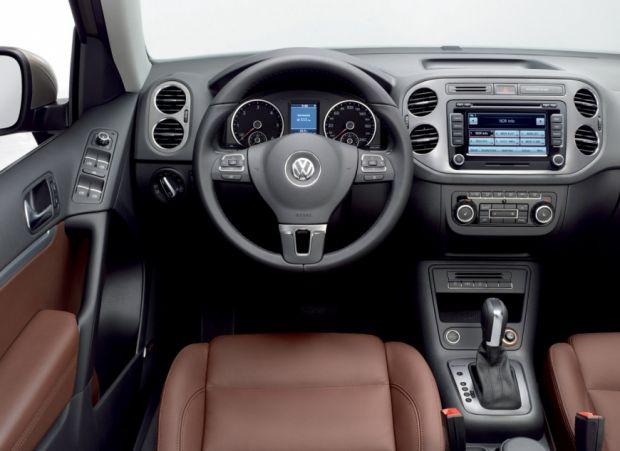 Interior Volkswagen Tiguan