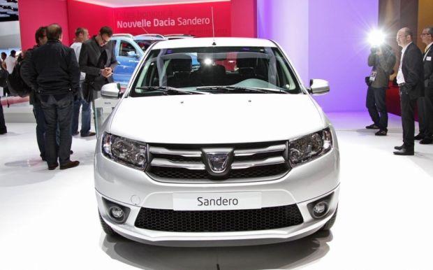 Dacia Sandero - Salão de Paris