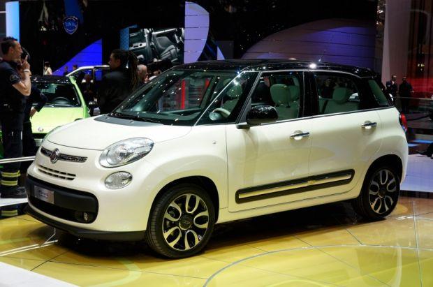 Fiat 500L - Salão de Paris