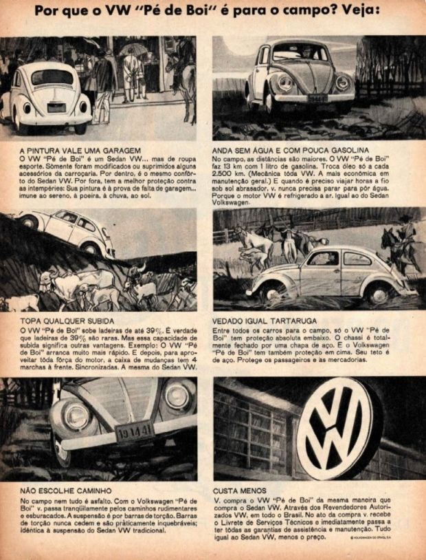Propaganda - Volkswagen Pé de Boi
