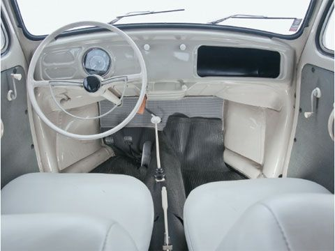 Interior - Volkswagen Pé de Boi