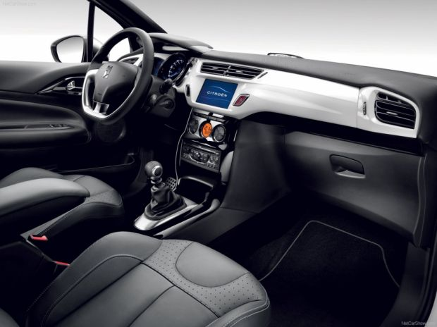 Interior - Citroen DS3