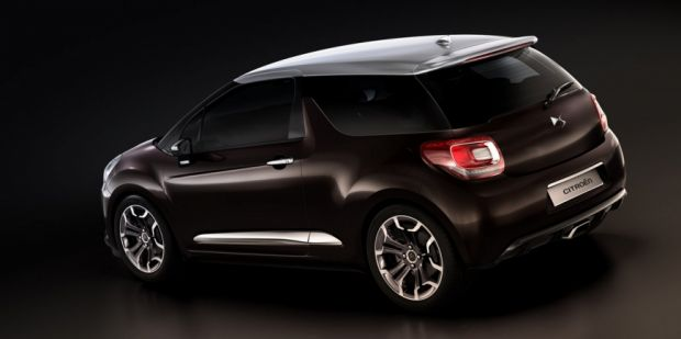 Traseira - Citroen DS3