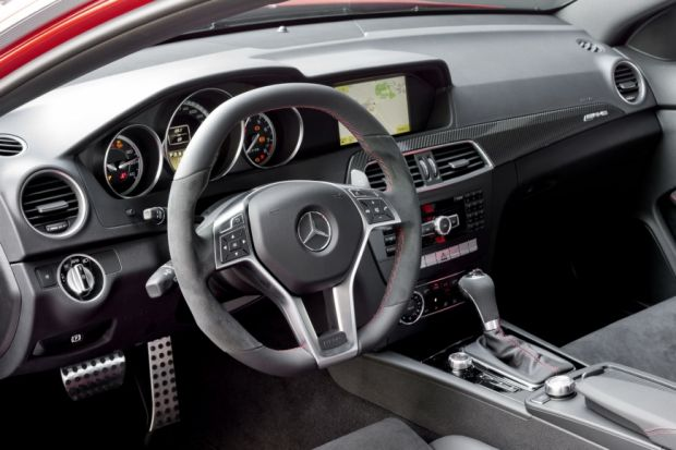 Interior - Mercedes C63 AMG Black Series