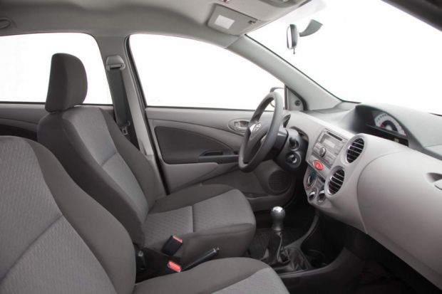 Interior - Toyota Etios Sedan