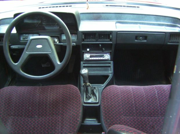 Interior - Ford Pampa