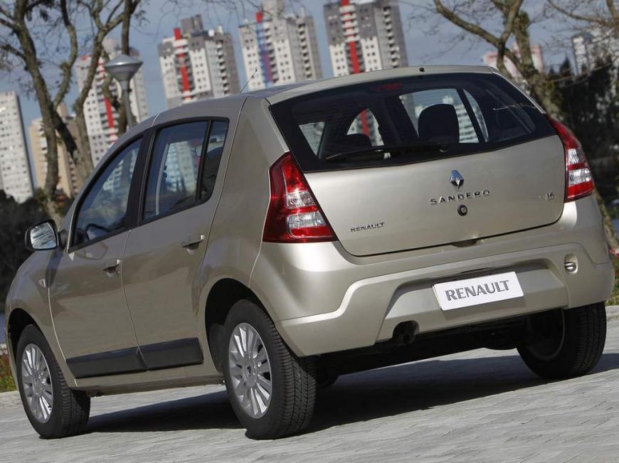 Renault Sandero 2013 - Traseira