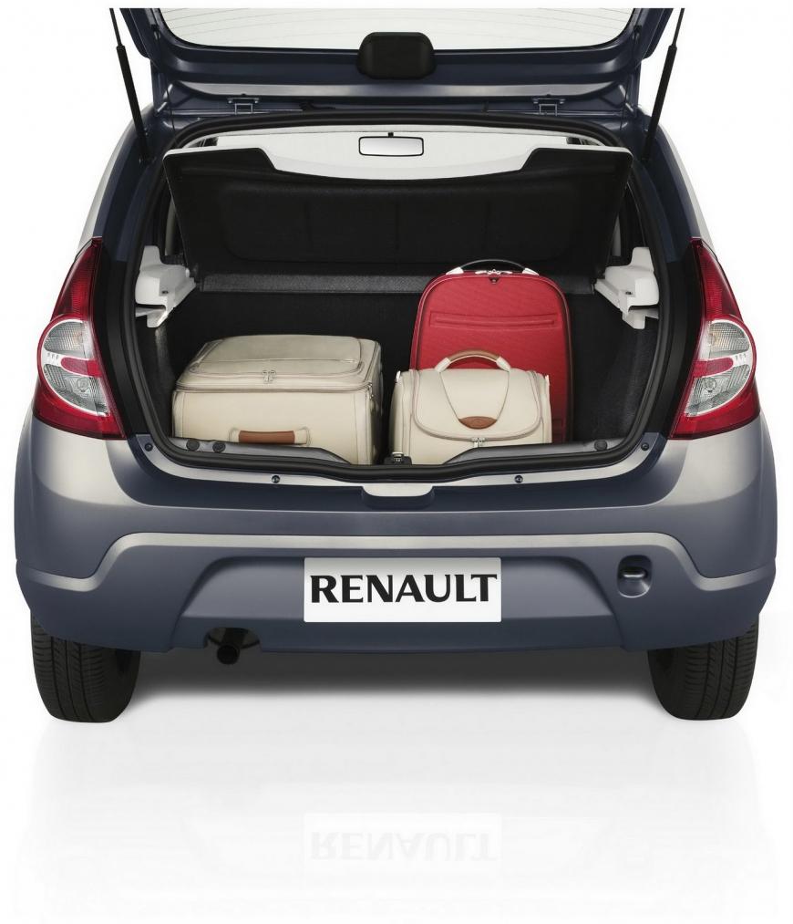 Renault Sandero 2013 - Porta malas
