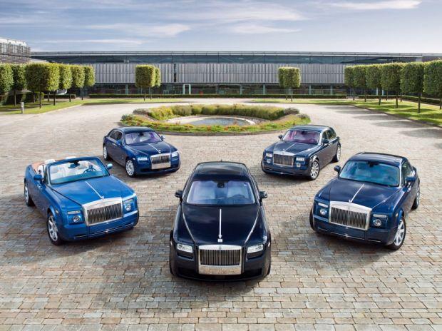 Modelos de carros da Rolls Royce