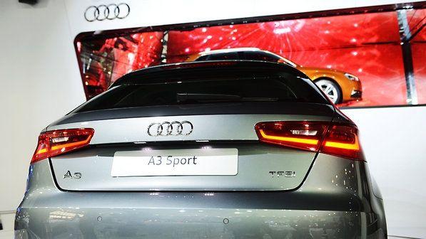 Audi A3 - Traseira