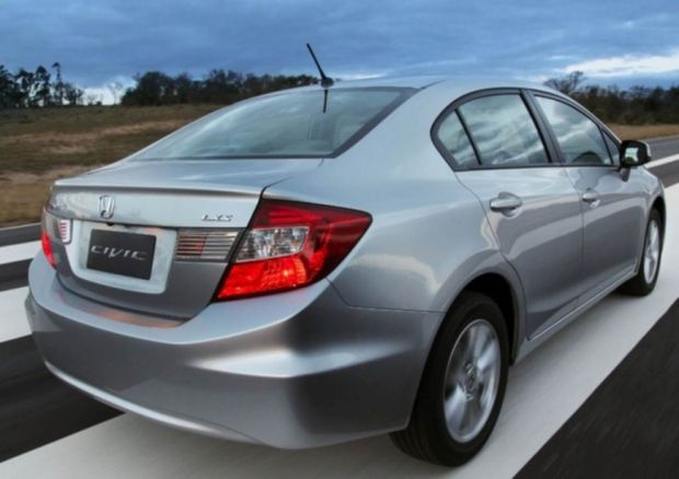 Novo Honda Civic 2.0 - Traseira
