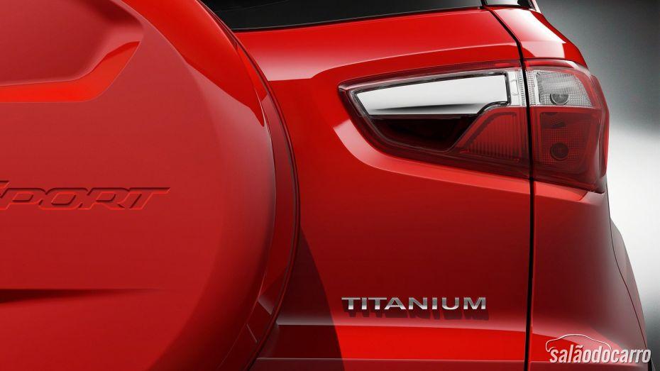 Ford EcoSport Titanium - Detalhe Traseira