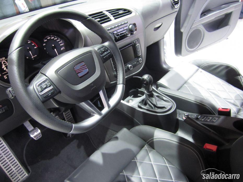 Seat Leon no Salão do Automóvel - Interior