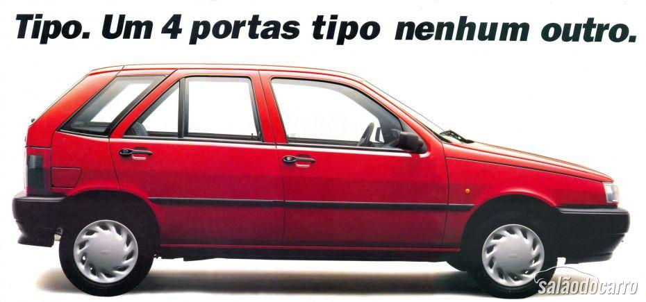 Fiat Tipo - Lateral - Propaganda