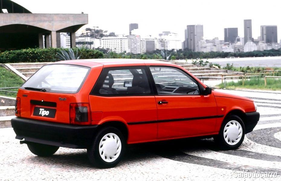 Fiat Tipo - Traseira