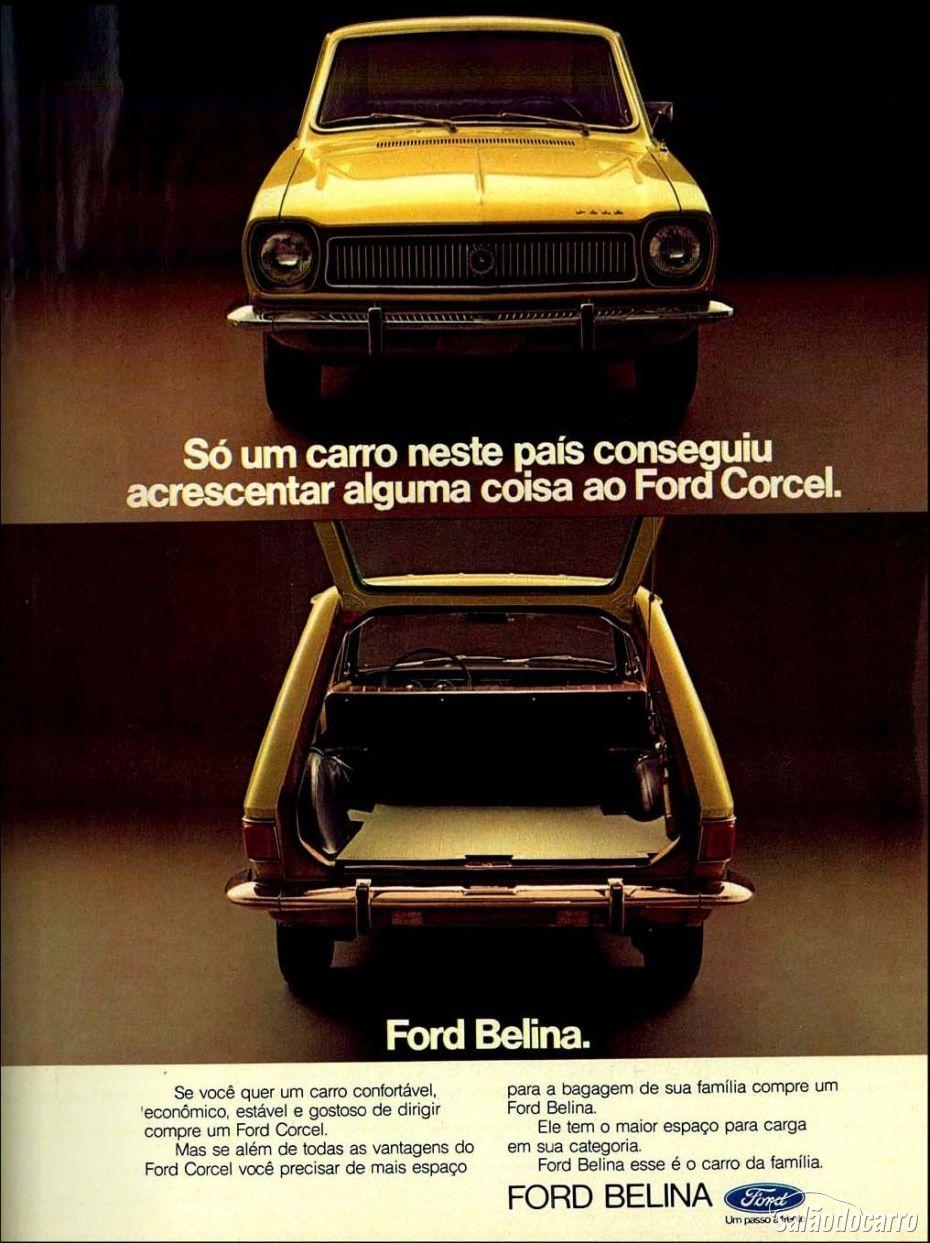 Propaganda da Ford Belina 1973