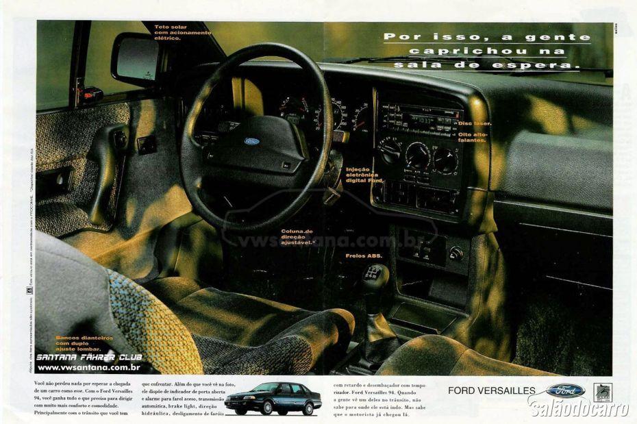 Propaganda Ford Versailles
