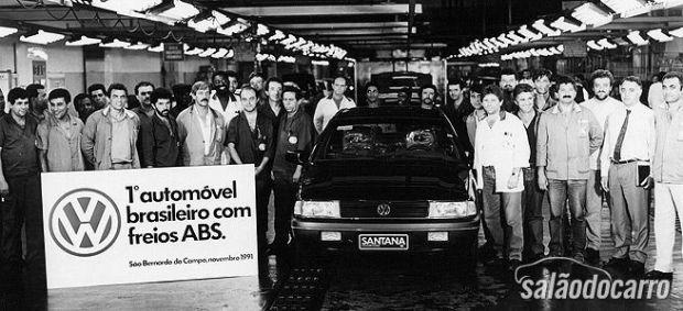 Volkswagen Santana - Linha de Produção