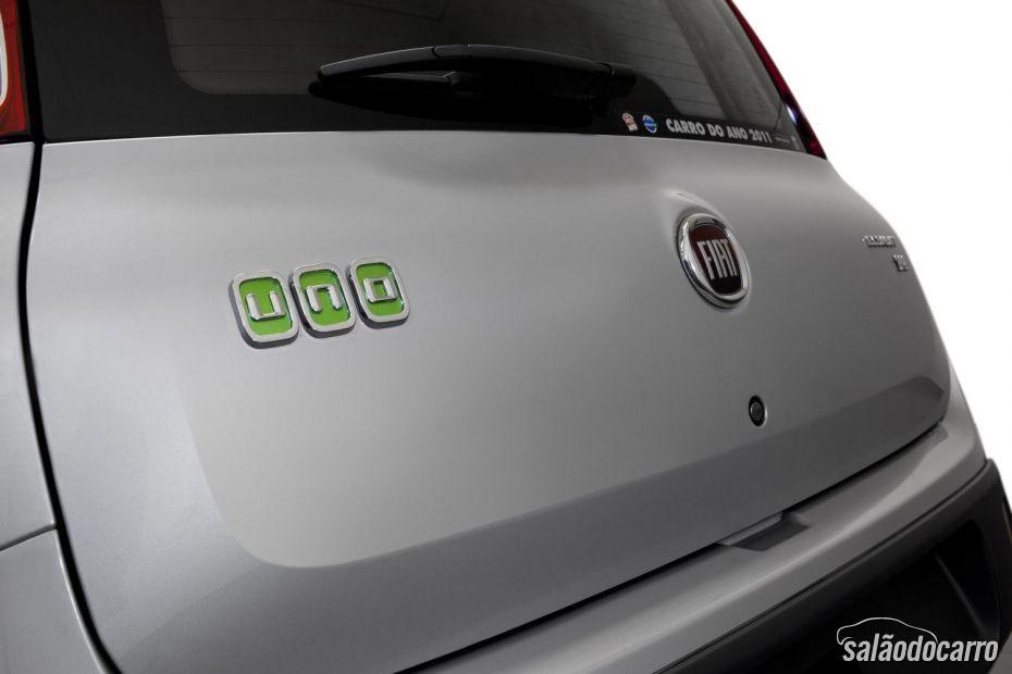 Detalhes Fiat Uno Edição Itália