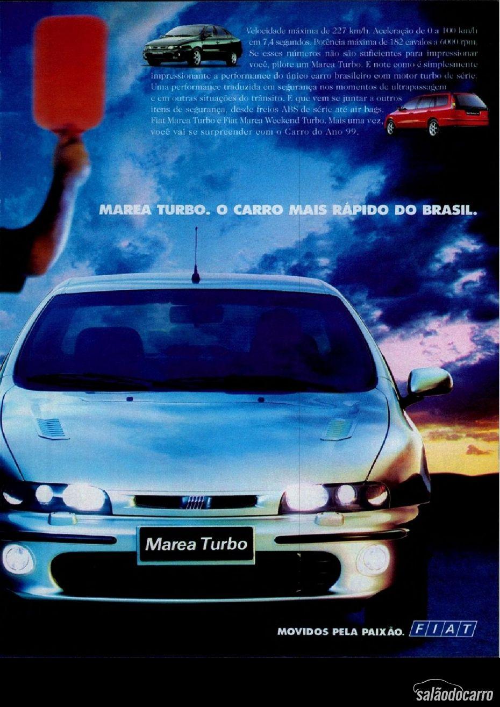 Fiat Marea Turbo - Propaganda