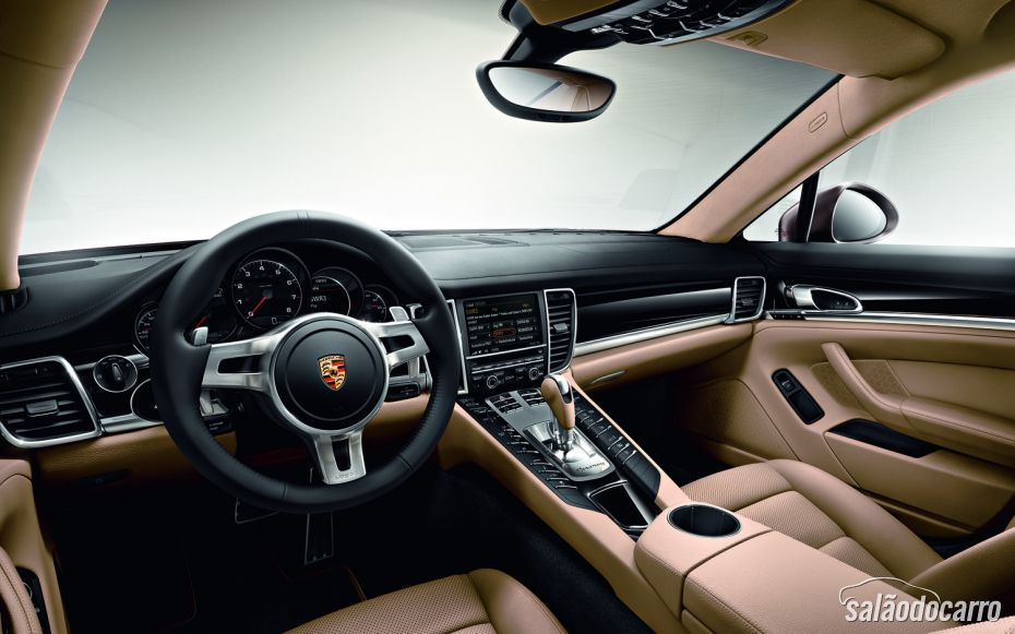 Design interno Panamera Platinum