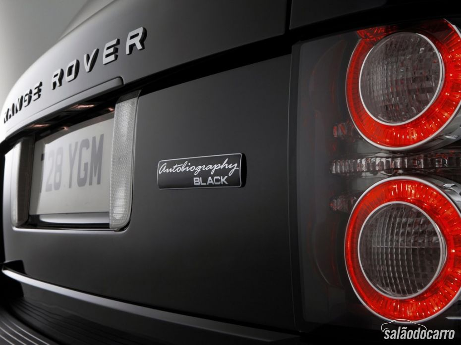 Detalhe novas lanternas Range Rover Autobiography