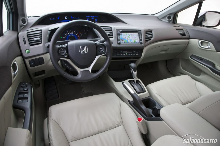 Beautiful Honda Civic 2013   Interior