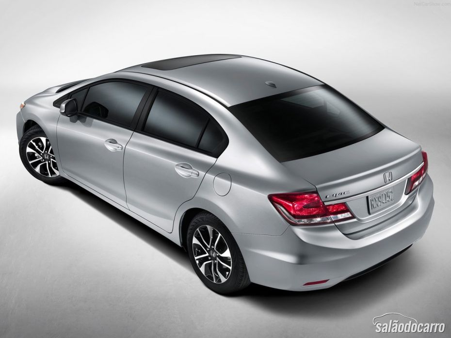 Honda Civic 2013 - Traseira