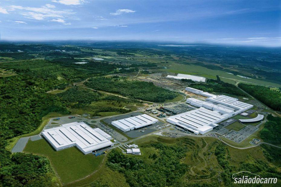 Imagem aérea fábrica Renault