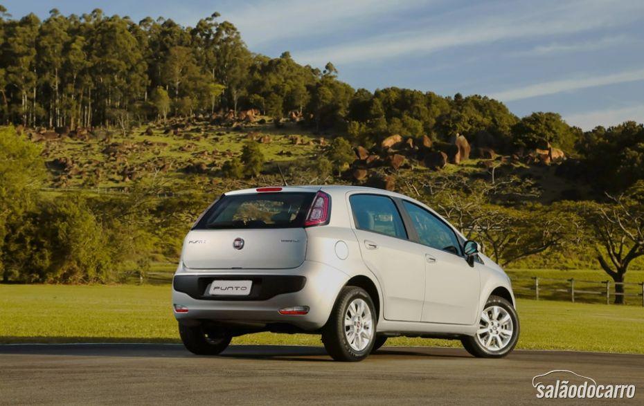 Novo Fiat Punto - Traseira