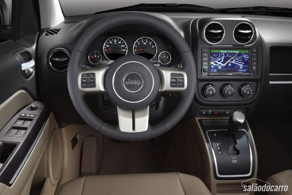 Interior Jeep Compass