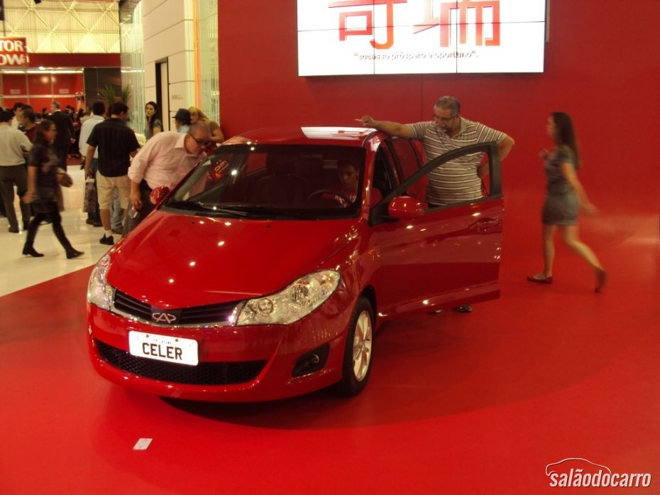 Chery Celer 2013 em evento na China