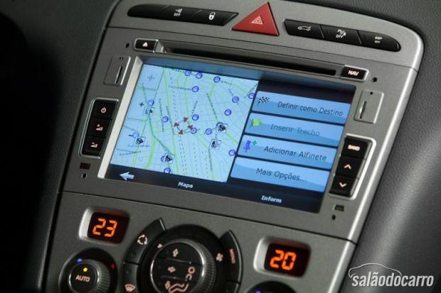Sistema multímidia Peugeot 408 Limited