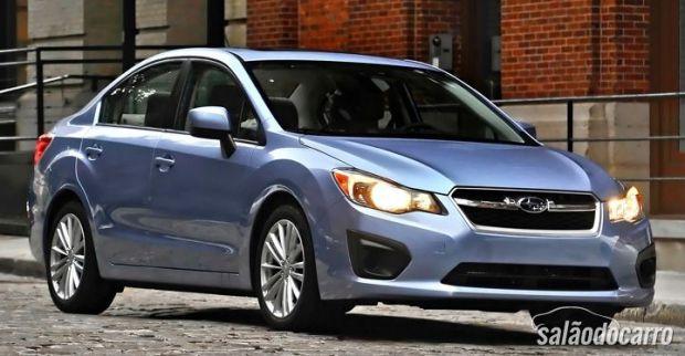 Subaru Imprezza versão atual