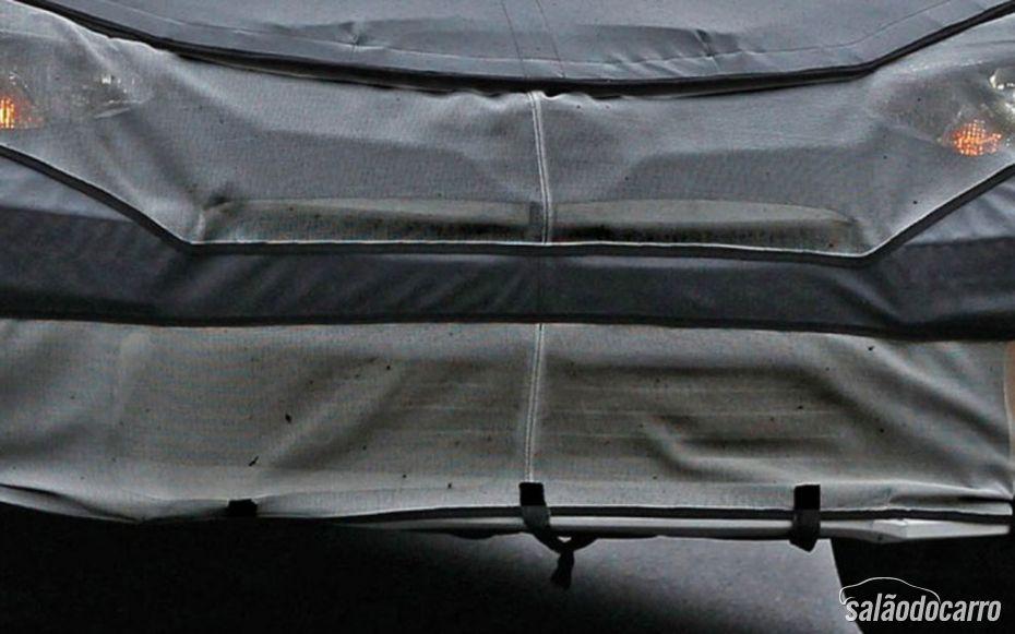 Flagrante de detalhe do Toyota Corolla