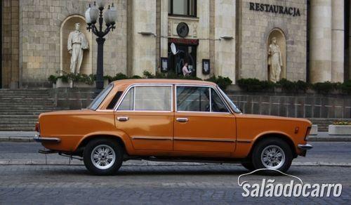 Fiat 125: Visão da lateral