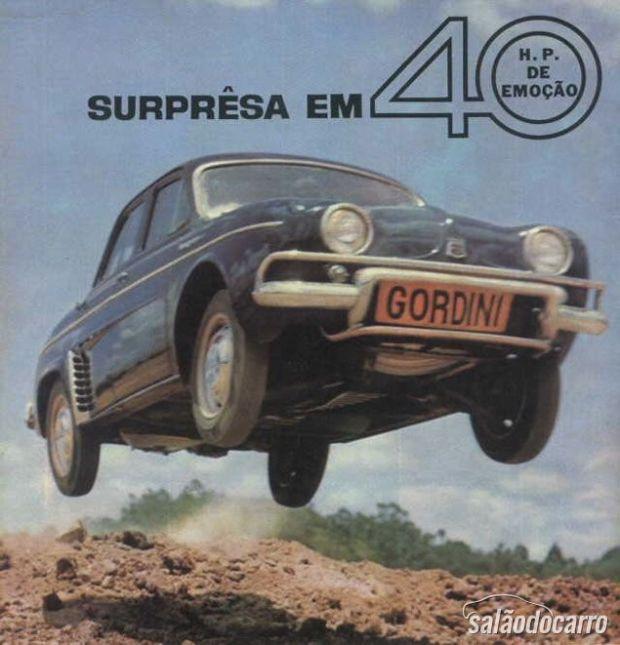 Gordini: Propaganda da época