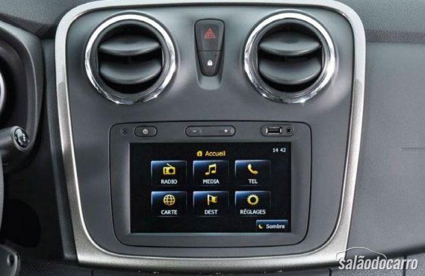 Console central Dacia Sandero 2013