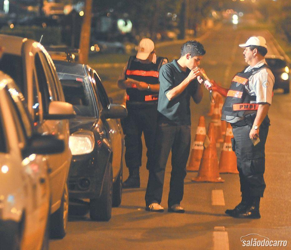 Motorista alcoolizado pagará o dobro da multa