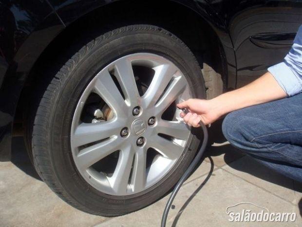 Calibragem de pneu