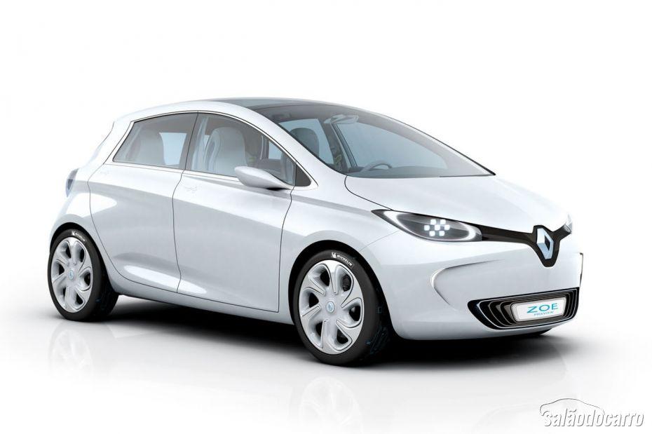 Zoe considerado carro elétrico mais barato do mundo.