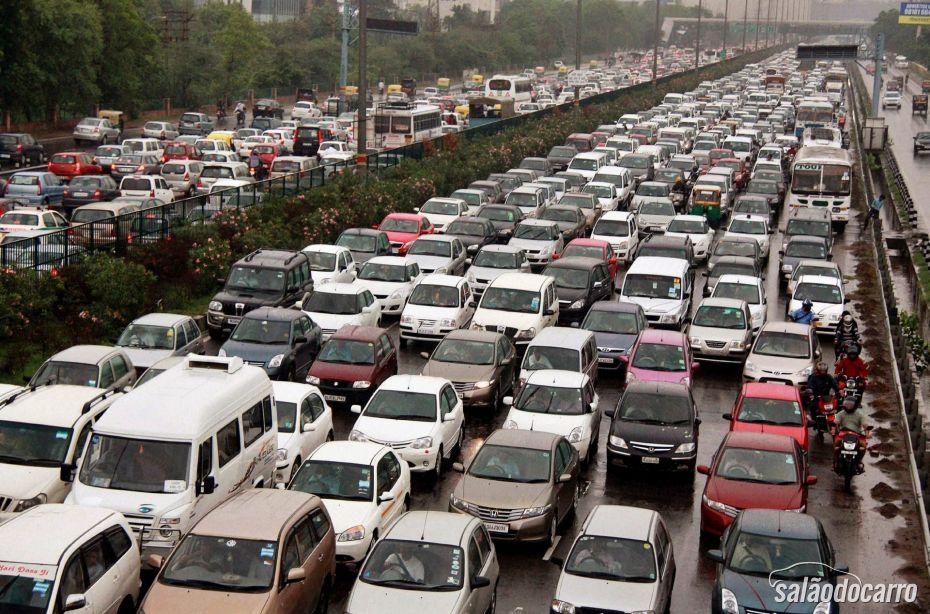 Congestionamento em SP