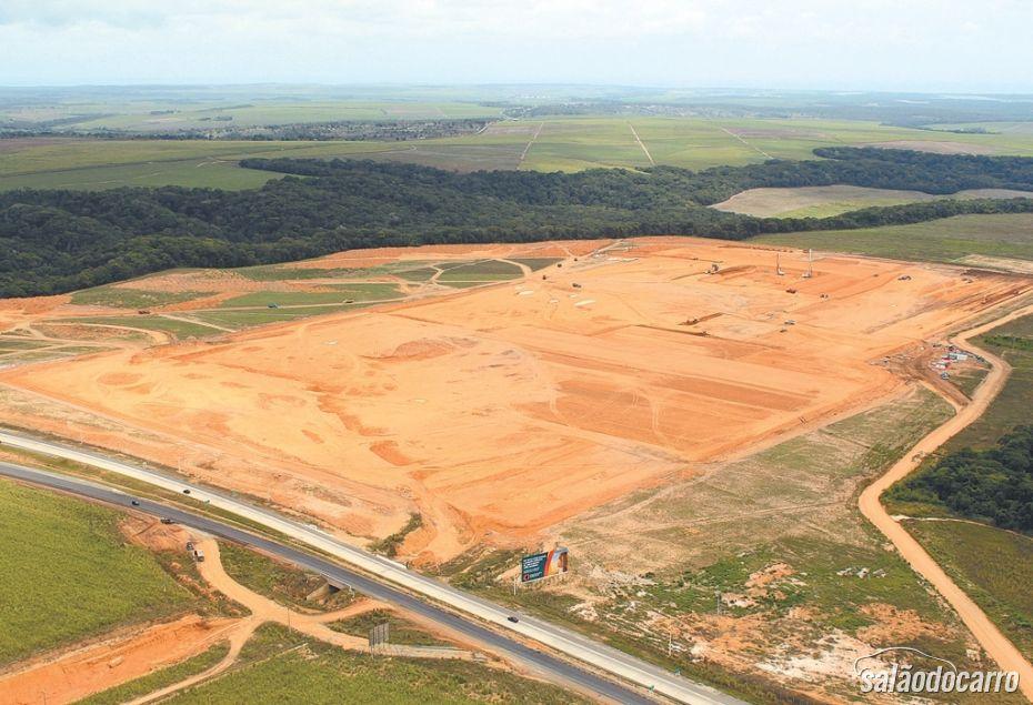 Terreno onde será erguida fábrica da Fiat em PE