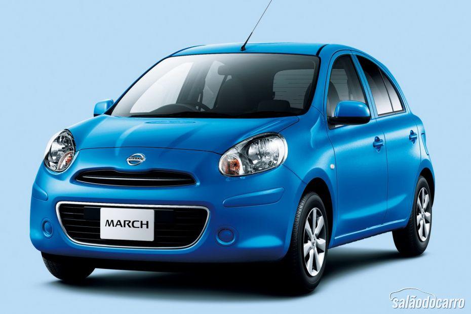 Nissan March aposta em um visual mais agressivo