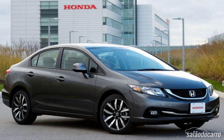 Honda Civic 2014 começa a ser vendido.