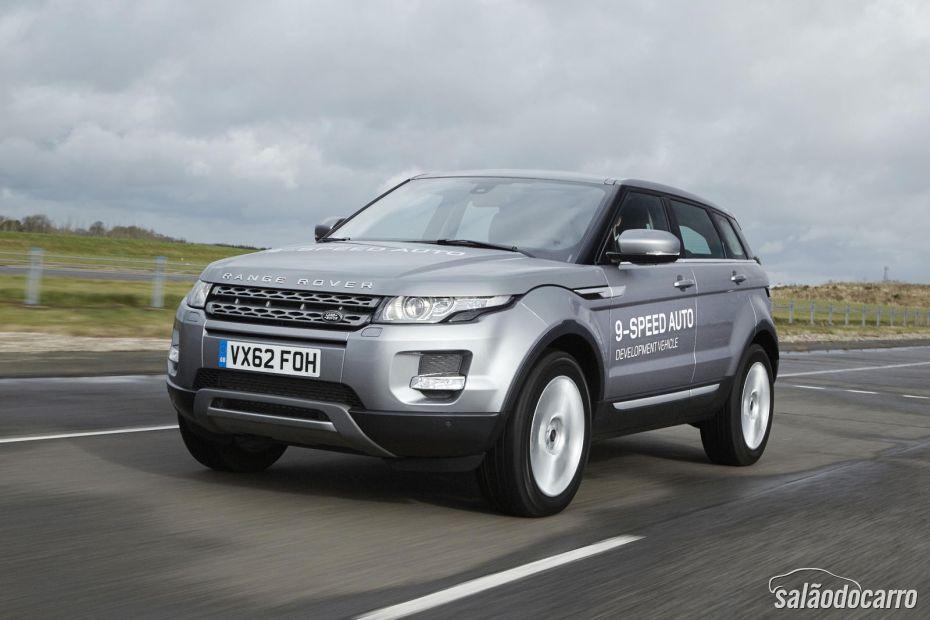 Primeiro carro de nove marchas será apresentado em Genebra pela Land Rover.